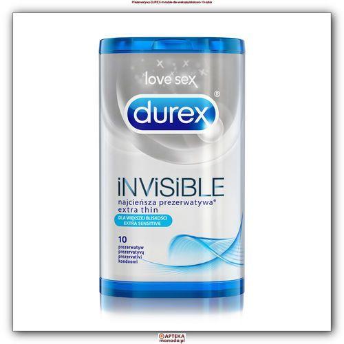Durex Prezerwatywy Invisible Extra Sensitive 10szt