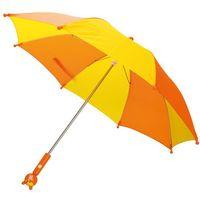 BINO Parasol pomarańcz/zółty
