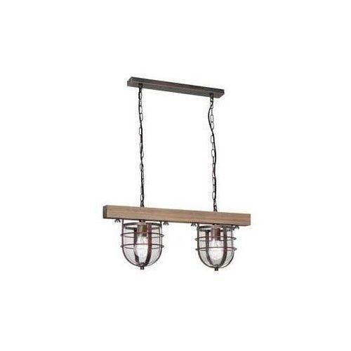 Lampa wiszącaander 2xe27/60w/230v jasnobrązowa marki Luminex