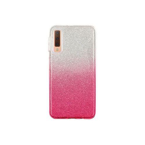 Samsung Galaxy A7 (2018) - etui na telefon Forcell Shining - różowe ombre