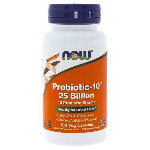 Now Foods Probiotic-10 (Probiotyk) 25 miliardów - 100 kapsułek