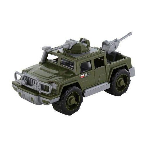 polesie samochód pickup wojskowy obrońca z 2ma karabinami marki Wader