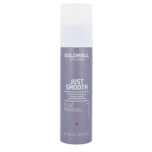Goldwell stylesign just smooth balsam wygładzający przeciwko puszeniu się włosów (flat marvel 1) 100 ml (4021609275237)