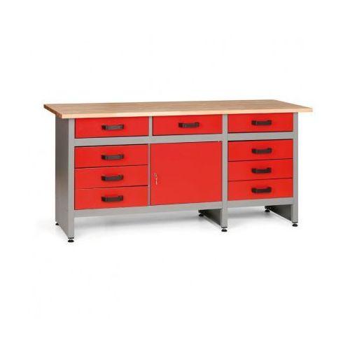 Mars Stół roboczy hobby i z szufladami i szafką (8595004158052)