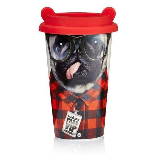 Kubek termiczny mops coffee crew  (pies) marki Mustard