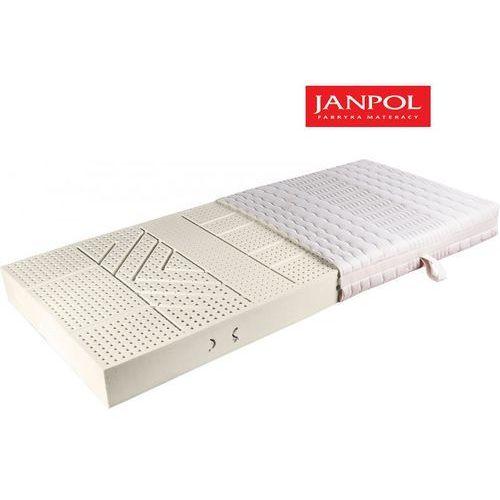 Janpol vita – materac lateksowy, piankowy, rozmiar – 180×190, pokrowiec – medicott silverguard wyprzedaż, wysyłka gratis marki Materace janpol