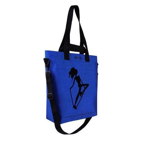 Torba cargo kobalt + lunchbox na sałatki goeat marki Healthy plan by ann