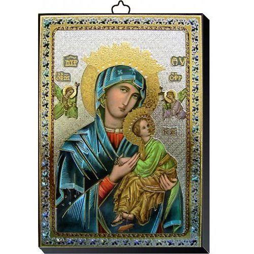 Produkt włoski Obrazek z matką bożą nieustającej pomocy 10x14 cm