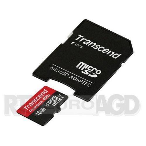 premium microsdhc class 10 32gb marki Transcend