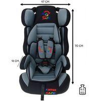 Fotelik samochodowy 9-36 kg  prestige ge-e - szary marki Kindersafe
