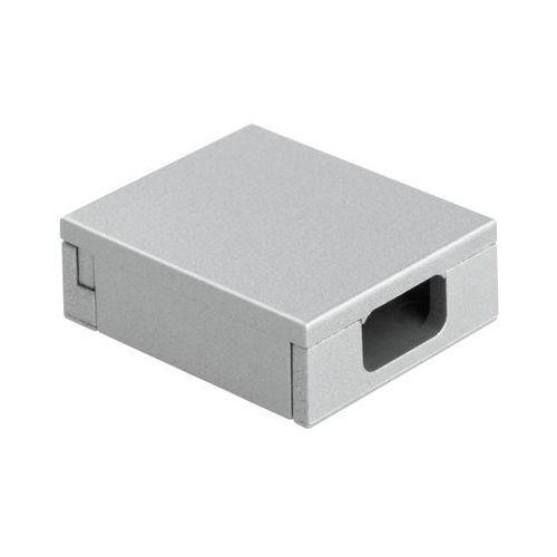 Maskownica do wtyczki RIO FLAT srebrna 3 cm INSPIRE