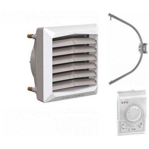Nagrzewnica wodna VTS Volcano VR2 AC 8-50 kW + KONSOLA + Sterownik naścienny DX, VR2 8-50 kW + DX