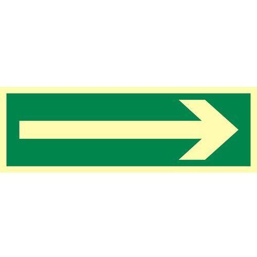 """Top design Znak ewakuacyjny """"kierunek drogi ewakuacyjnej"""""""