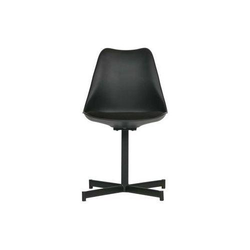 Woood zestaw 2 krzeseł flow czarne 375790-z (8714713083558)