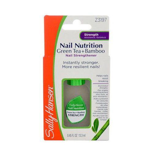 nail nutrition green tea+bamboo 13,3ml w odżywka do paznokci marki Sally hansen
