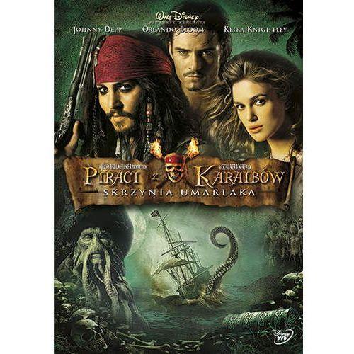 Piraci z Karaibów. Skrzynia umarlaka [DVD]