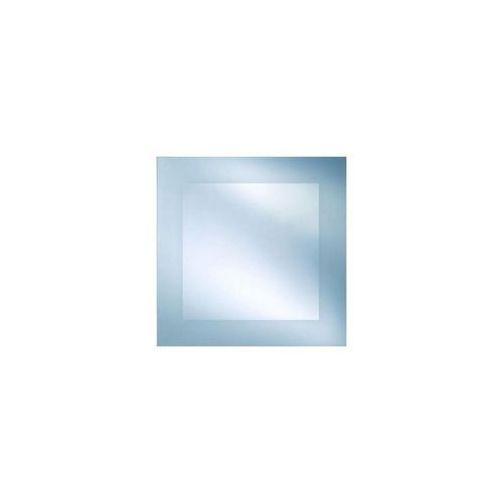 Lustro łazienkowe bez oświetlenia BRYZA 70 x 70 cm DUBIEL VITRUM, kolor biały