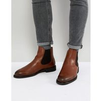 leather chelsea boots - brown, Selected homme