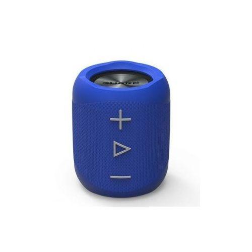 Głośnik mobilny SHARP GX-BT180 Niebieski + Nawet 25% taniej! + Zamów z DOSTAWĄ JUTRO! + DARMOWY TRANSPORT!