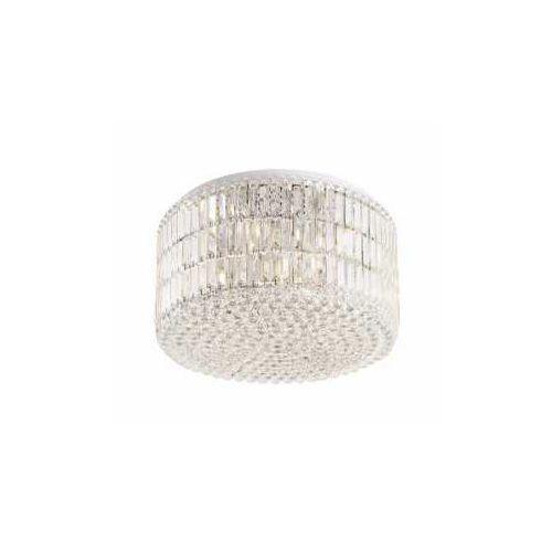 MAXlight Puccini C0128 Plafon lampa sufitowa 18x40W E14 chrom / przezroczysta, C0128