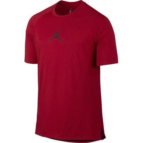 Nike Koszulka air jordan 23 tech short sleeve - 833784-687 - gym red/black