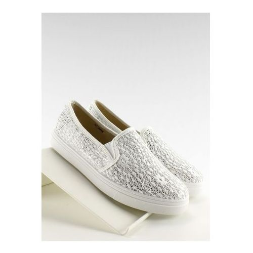Inello Trampki slip-on model xin07p white