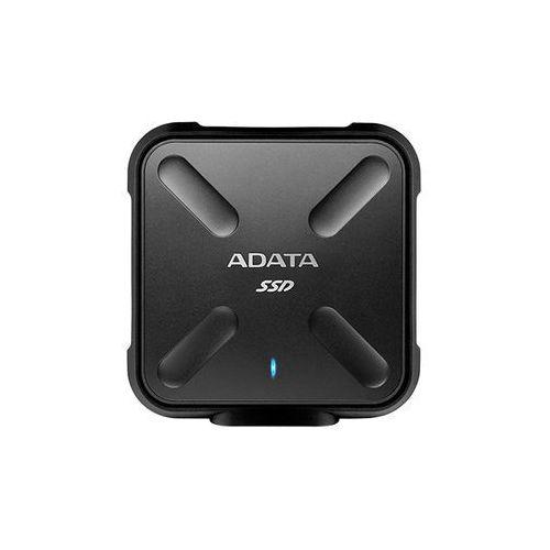 Dysk zewnętrzny ADATA SD700 256GB USB 3.0 (ASD700-256GU3-CBK) Darmowy odbiór w 20 miastach!, ASD700-256GU3-CBK