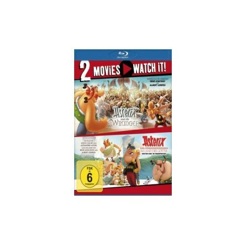 Asterix und die Wikinger / Asterix im Land der Götter, 2 Blu-ray