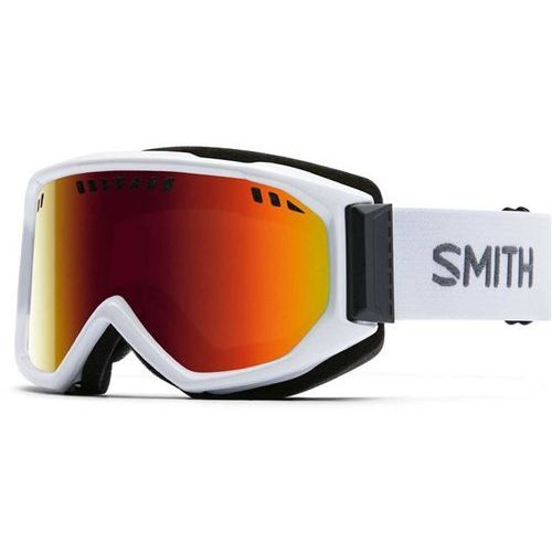 Smith Gogle snowboardowe - scope pro white red sol-x mirror (99c1) rozmiar: os