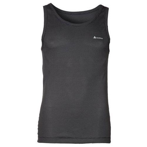Odlo Cubic Bielizna górna Mężczyźni szary/czarny L Koszulki bazowe bez rękawów (7612860732019)