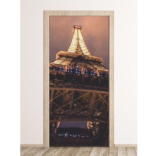 Wally - piękno dekoracji Fototapeta na drzwi fragment wieży eiffla fp 6290