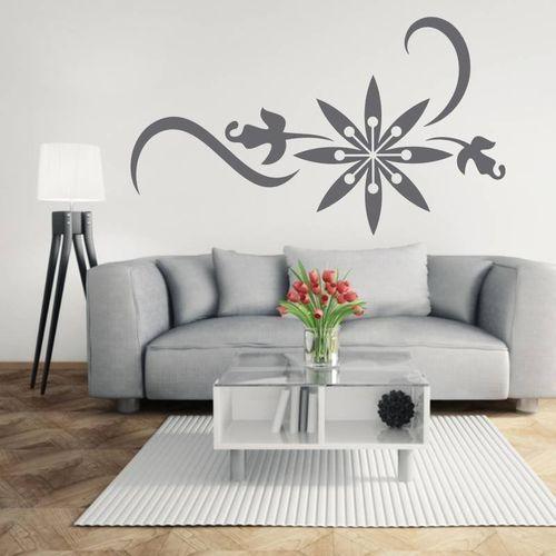 Naklejka dekoracyjna ornament roślinny 2129 marki Wally - piękno dekoracji