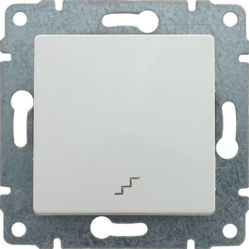 Kos vena łącznik schodowy z klawiszem, bez ramki, 16ax, 250v~, biały 510416