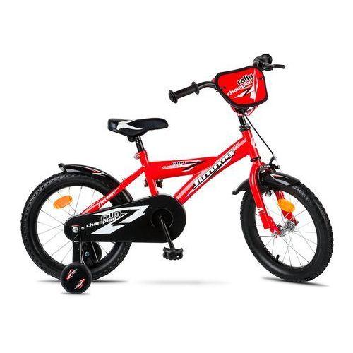 """600-50-96_acc rower dziecięcy jimmy 2 16"""" czerwony metaliczny marki Accent"""