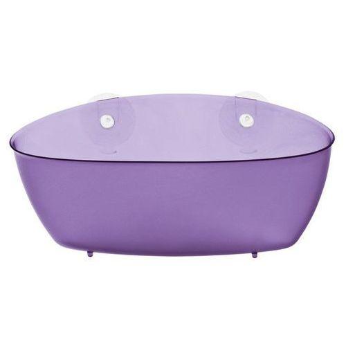 - półka prysznicowa splash - fioletowa marki Koziol