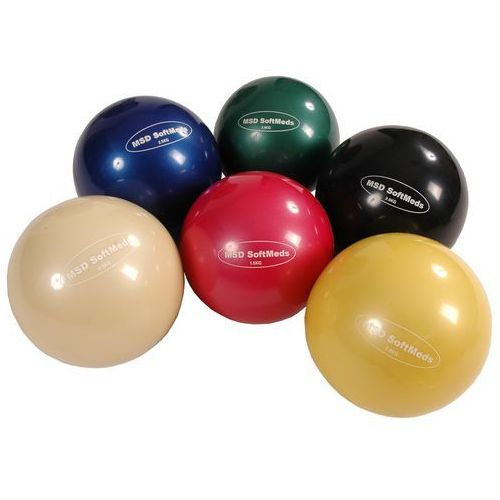Piłka lekarska mambo softmed moves (różne kolory) marki Msd