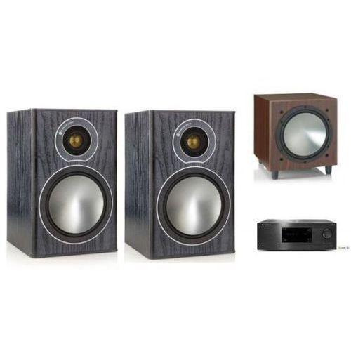 Cambridge audio cxr120 + monitor audio bronze1 + w10 marki Zestawy