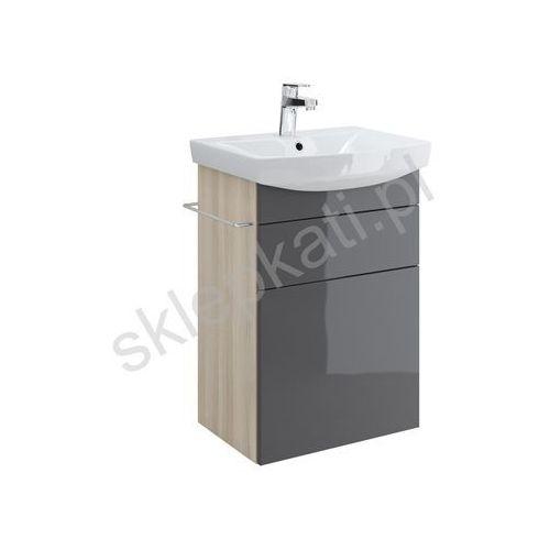 CERSANIT SMART Szafka podumywalkowa 50, front szary S568-009, S568-009