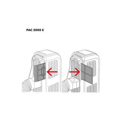 PAC 2000 E filtr powietrza 2-częściowy