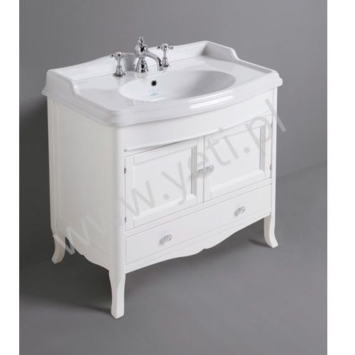 Simas Arcade szafka biała 90 cm ARMD90, kolor biały