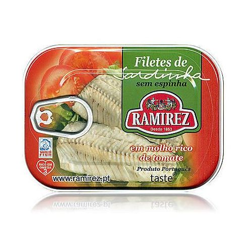 Ramirez Filety z sardynek portugalskich w kremie z pomidorów  100g