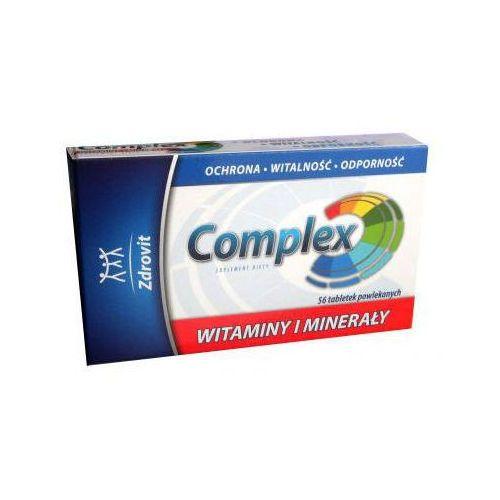 Tabletki ZDROVIT COMPLEX Witaminy i Minerały x 56 tabletek