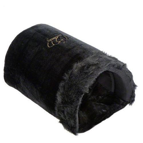 Tunel dla kota royal pet black xxl, czarny - dł. x szer. x wys.: 50 x 35 x 28 cm marki Zooplus exclusive