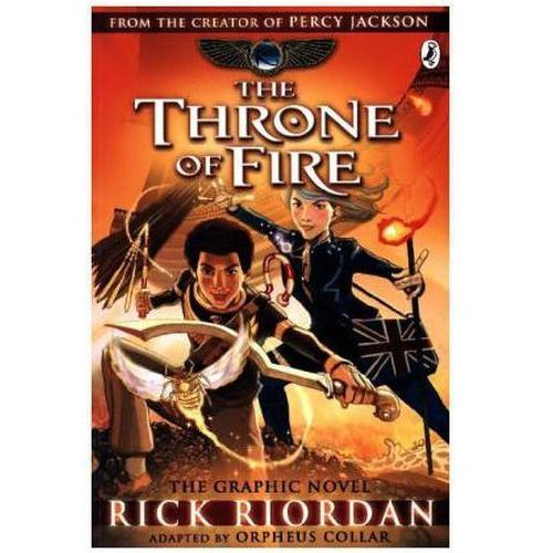 Kane Chronicles: the Throne of Fire: The Graphic Novel (9780141366586)