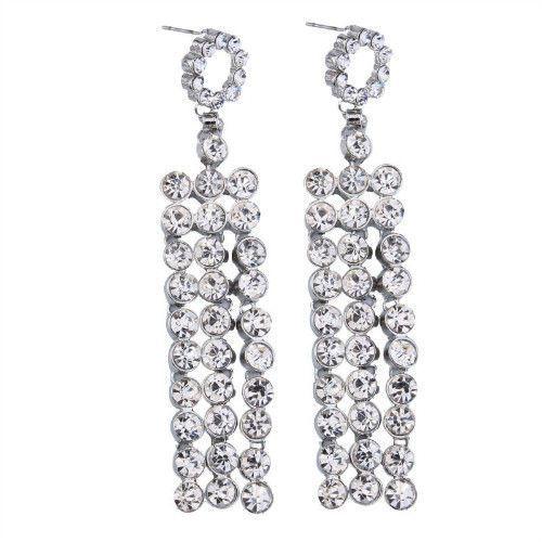 Kolczyki dla gwiazdy srebrne - gwiazdy srebrne marki Cloe