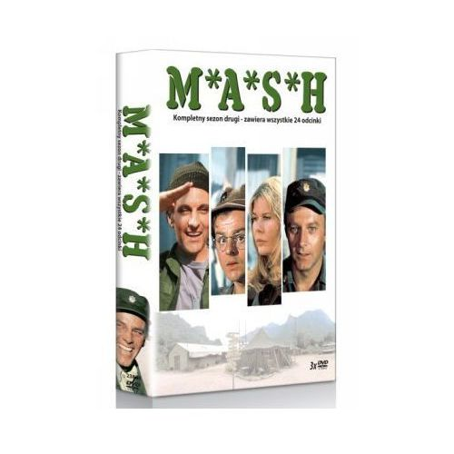 OKAZJA - M.A.S.H, sezon 2 [3DVD] - Joshua Shelley, David Ogden Stiers (5903570134074)