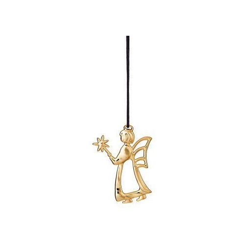 Rosendahl Ozdoba świąteczna anioł z różdżką karen blixen, złoty - (5709513324713)