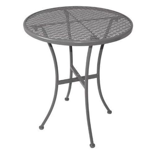 Ażurowy stolik ogrodowy | okrągły | różne kolory | 600x600x(H)700mm