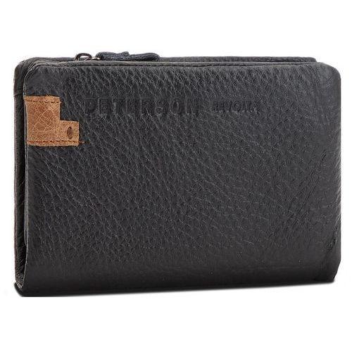 373b9d7a66303 Duży portfel męski - 8102 2-14-01-01 black marki Peterson