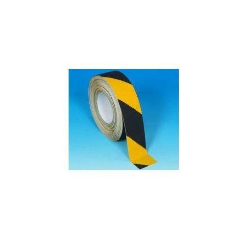 Taśma antypoślizgowa samoprzylepna żółto czarna marki Grupa morado